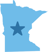 Decorative icon of Minnesota